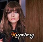 CLIP IN OFINA - 100% lidské vlasy - světlejší hnědá #6