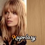 CLIP IN OFINA - 100% lidské vlasy - přírodní blond #22