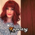 CLIP IN OFINA - 100% lidské vlasy - měděná #350