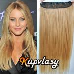 Clip in 100% lidský pás 51 cm - přírodní blond #22