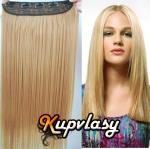 Clip in pás z kanekalonu 61 cm - přírodní blond #22