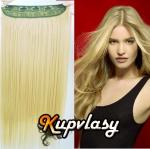 Clip in pás z kanekalonu 61 cm - beach blond #613