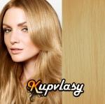 Clip in vlasy 38 cm, 105 g - přírodní blond #22