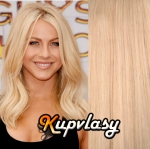 Clip in vlasy 38 cm, 105 g - beach blond #613