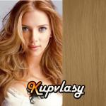 Clip in vlasy 41 cm, 70 g - melír přírodní světlejší blond #18/22