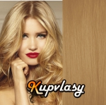 Clip in vlasy 61 cm, 120 g - přírodní blond #22