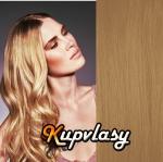 Clip in vlasy 71 cm, 140 g - přírodní blond #22
