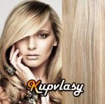 DELUXE clip in vlasy 41 cm, 140 g - melír popelavě-beach blond #60/16
