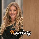 DELUXE clip in vlasy 71 cm, 280 g - přírodní blond #22