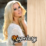 DELUXE clip in vlasy 71 cm, 280 g - beach blond #613